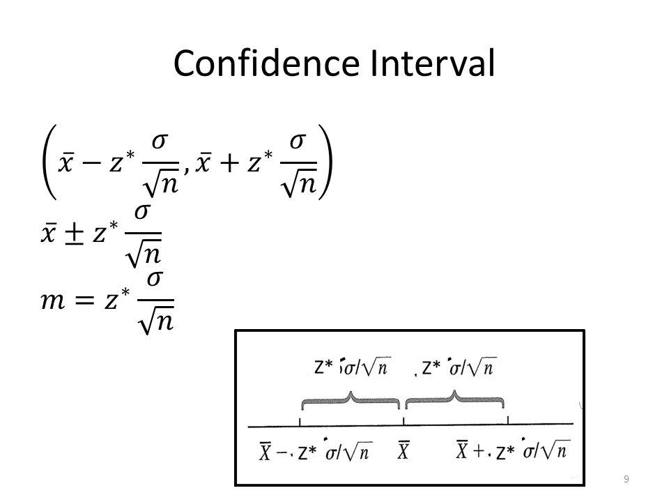 Confidence Interval 9