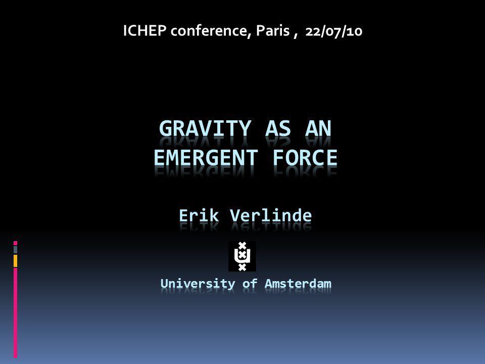 ICHEP conference, Paris, 22/07/10