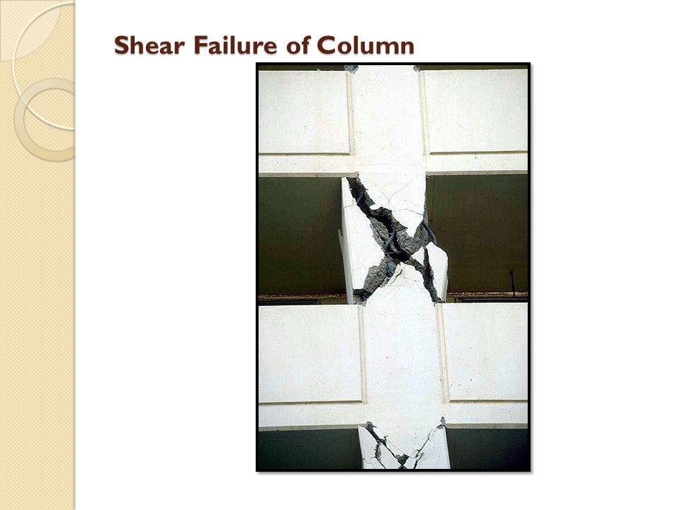 Shear Failure of Column
