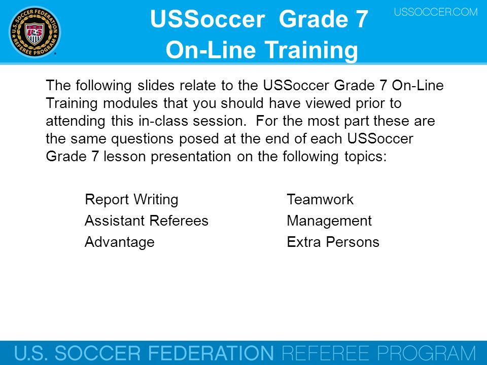 Grade 7 - Report Writing U.S.