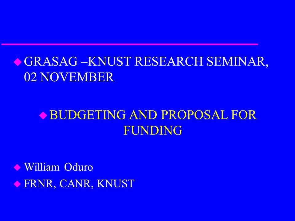 Identify Funding Sources u Government sources u Private foundations u Corporations u Special interest groups u Internet sources