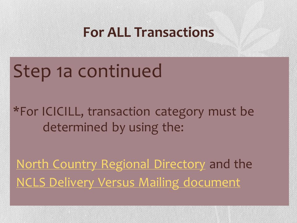 For ICICILL: Category D - Mailing Step 4 Place book or other item in the padded manila envelope.