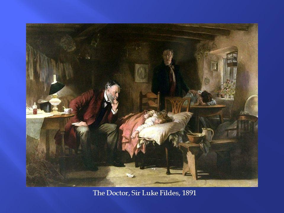 The Doctor, Sir Luke Fildes, 1891