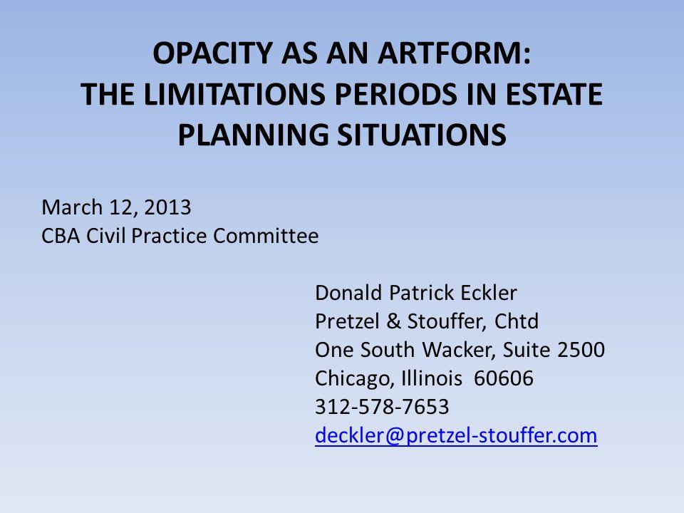 Fitch v.McDermott, Will, & Emery, LLP In Fitch v.