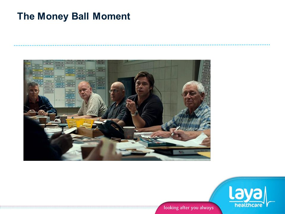 The Money Ball Moment