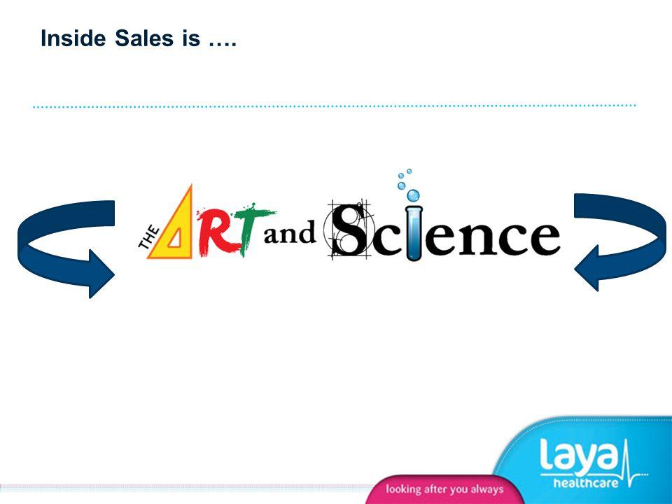 Inside Sales is ….