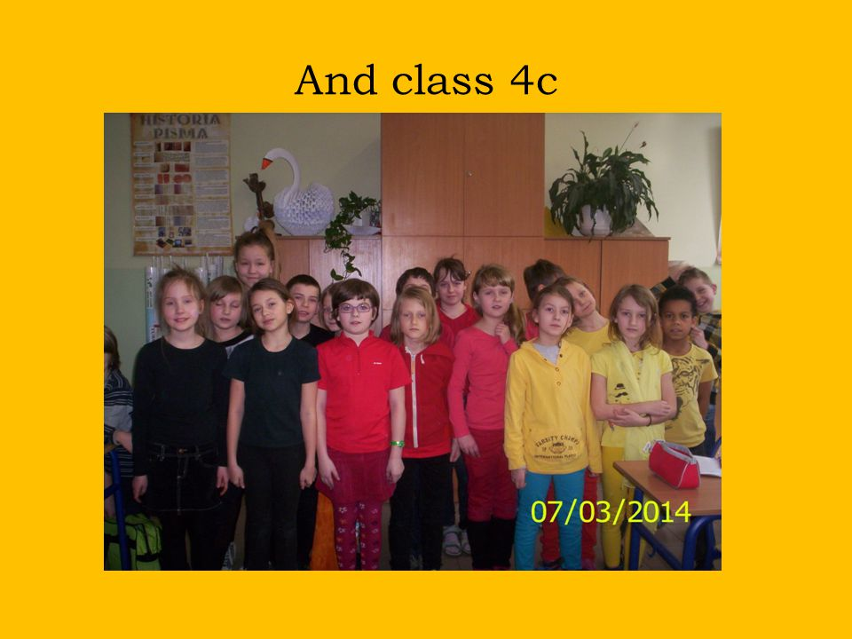 And class 4c