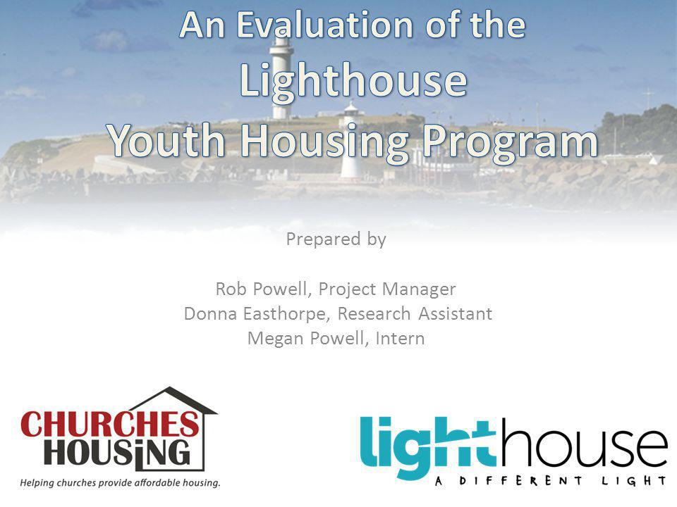 Introduction and Background About the Lighthouse Youth Initiative Foyer Model Homelessness & Unemployment in the Illawarra