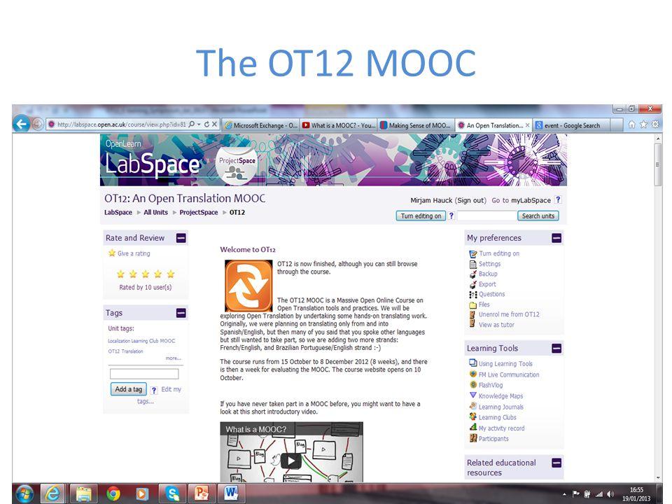 The OT12 MOOC