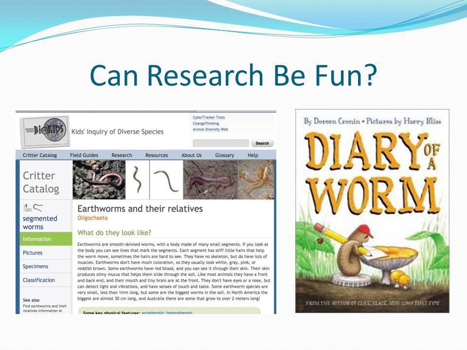Can Research Be Fun