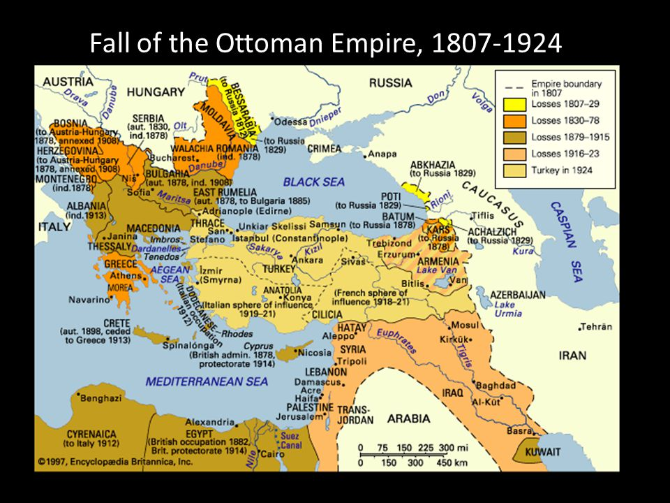 Fall of the Ottoman Empire, 1807-1924