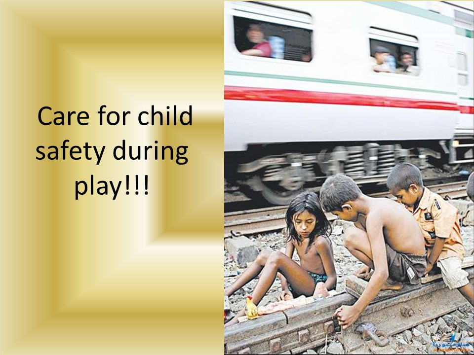 Care for child safety during play!!!