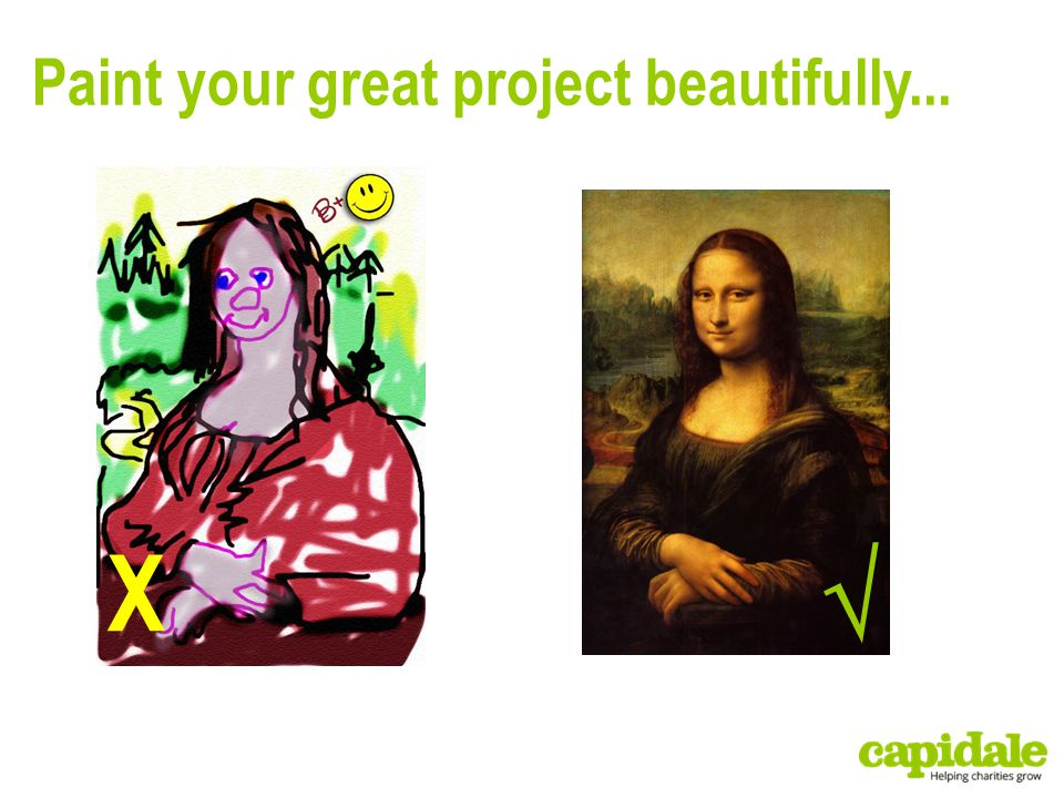 Paint your great project beautifully...  X