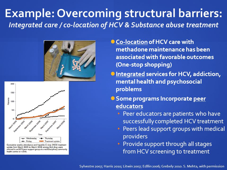 Canadian situation 2007 Canadian consensus guideline reads: An appropriately funded multidisciplinary effort is required to improve care strategies for HCV infected IDU.
