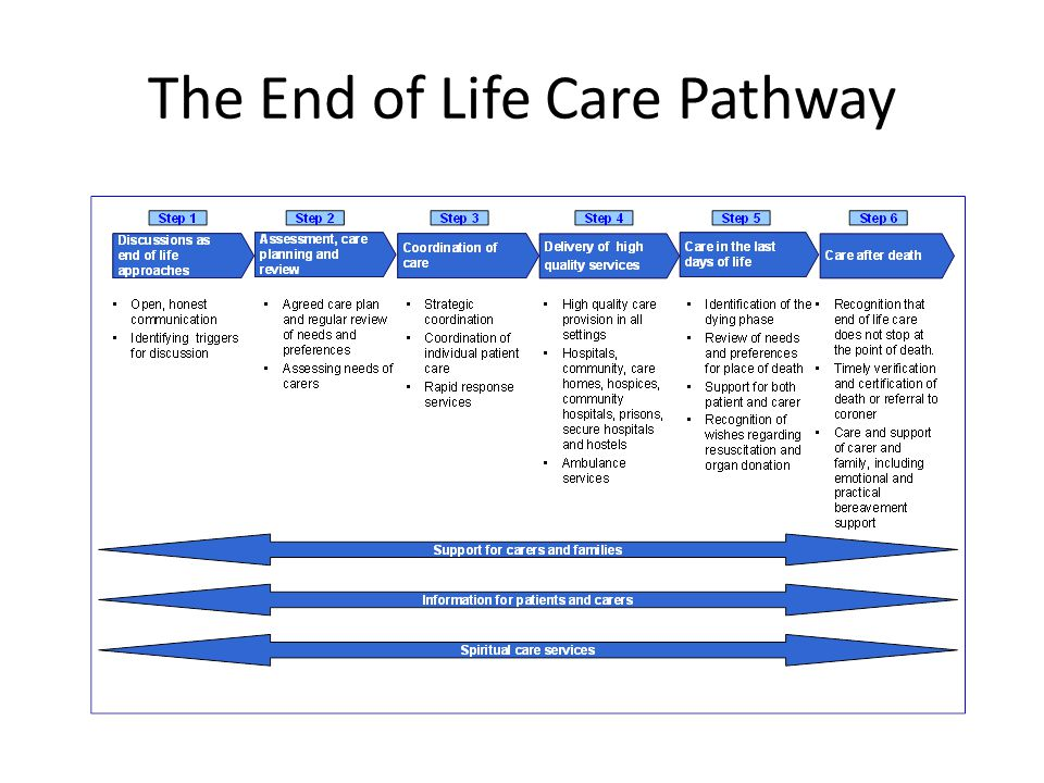 The End of Life Care Pathway