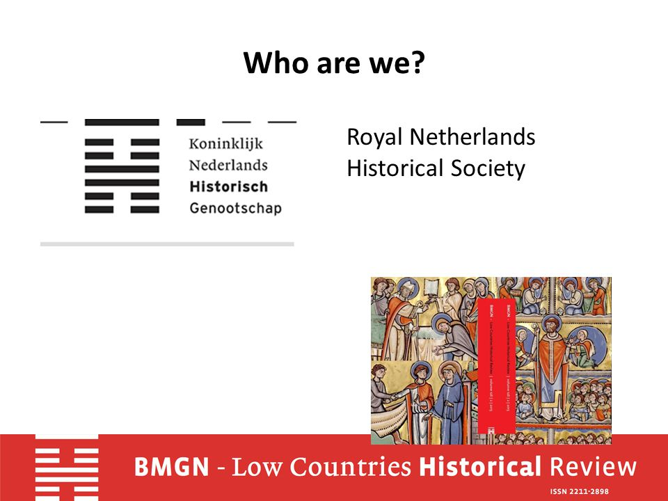 Who are we Royal Netherlands Historical Society