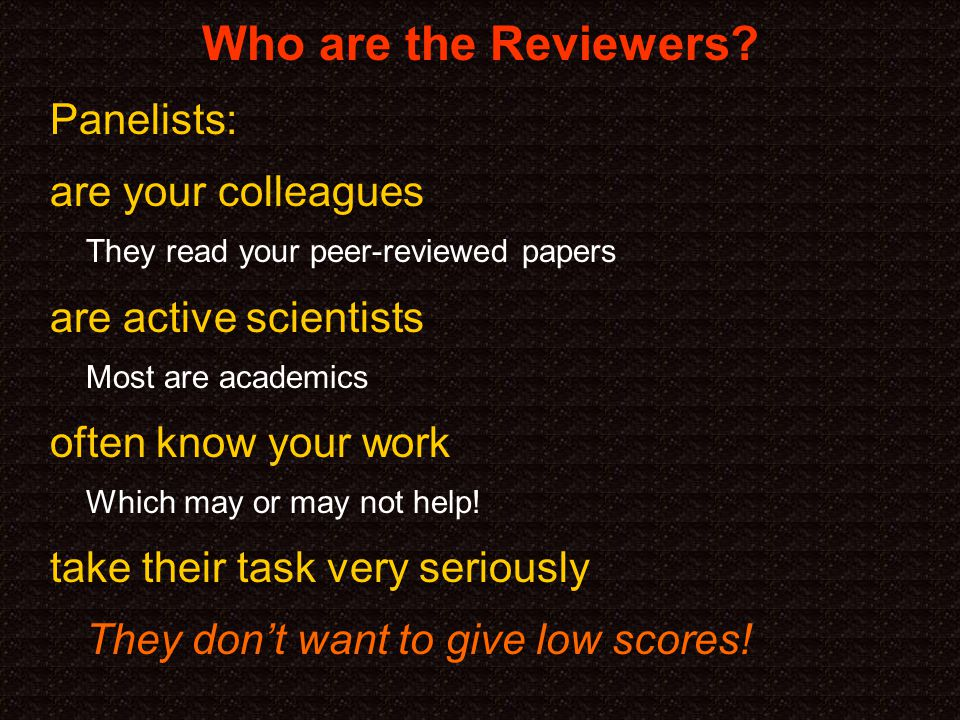 Who are the Reviewers.