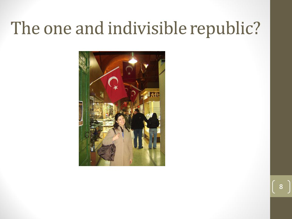 The one and indivisible republic 8