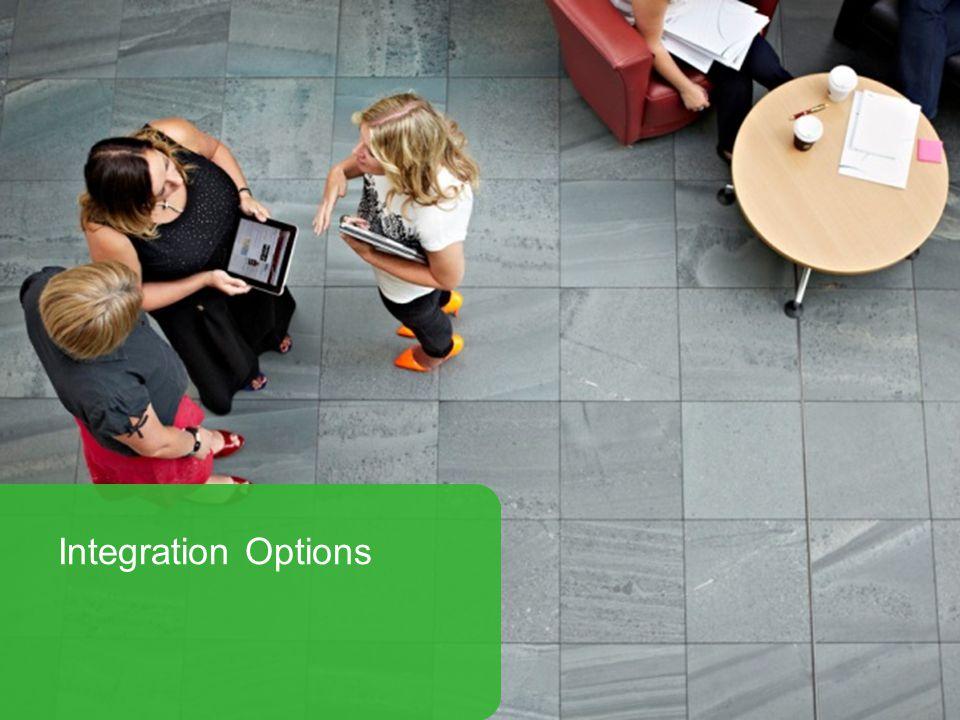 sagecrm.com Integration Options