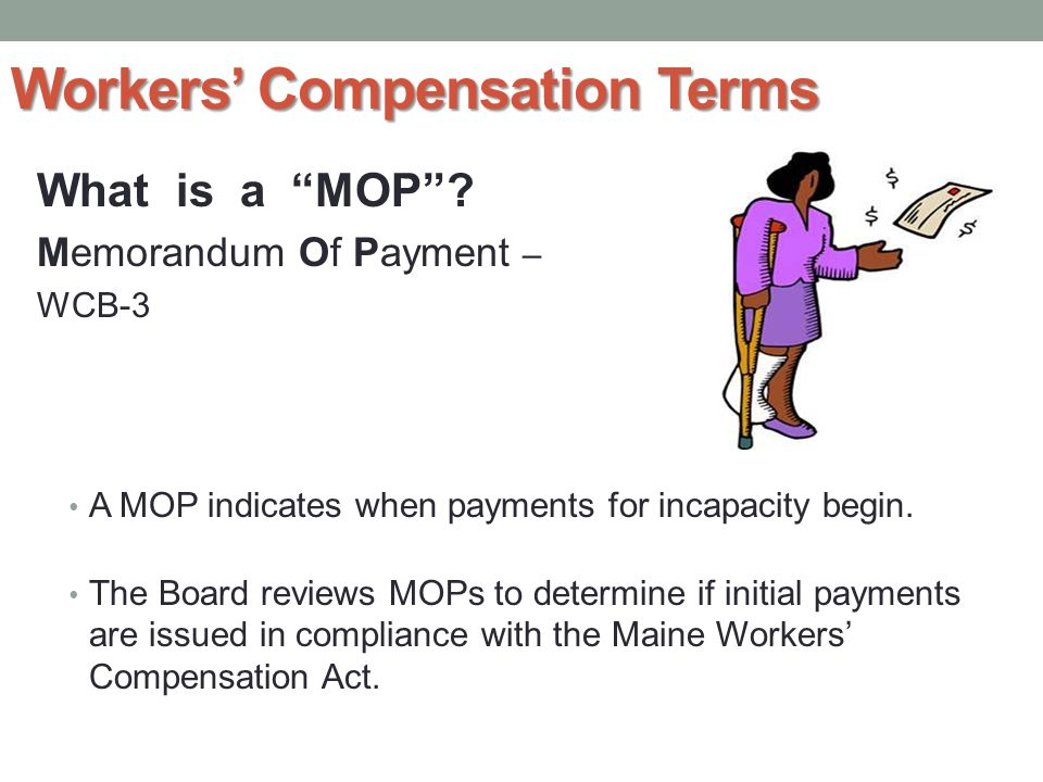 Workers' Compensation Terms What is a NOC .