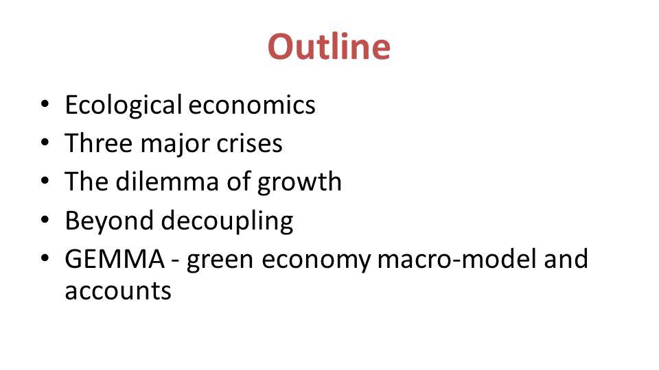 Beyond Decoupling Source: Prosperity without growth, Tim Jackson, 2009) x 130 improvement
