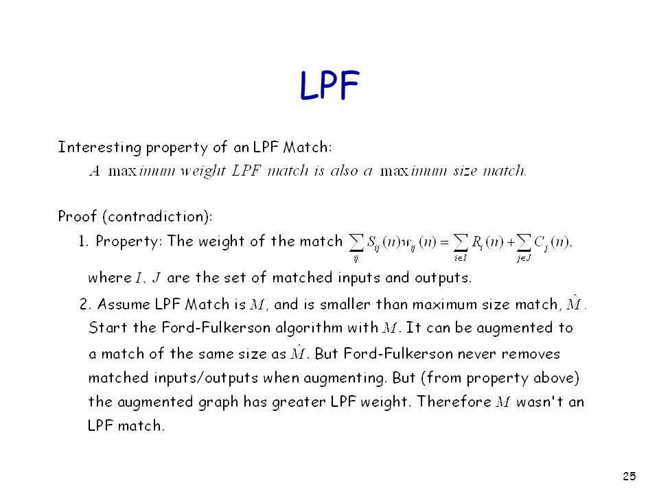 25 LPF
