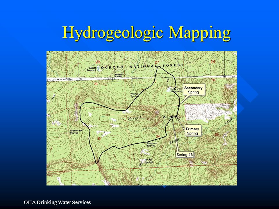 OHA Drinking Water Services Hydrogeologic Mapping