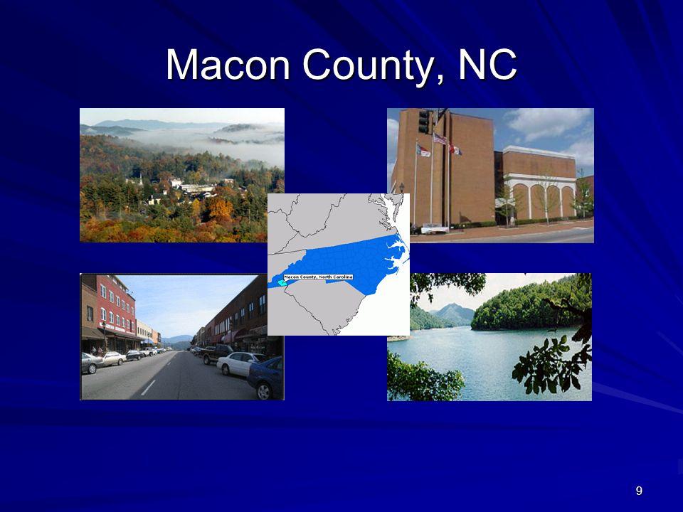 9 Macon County, NC