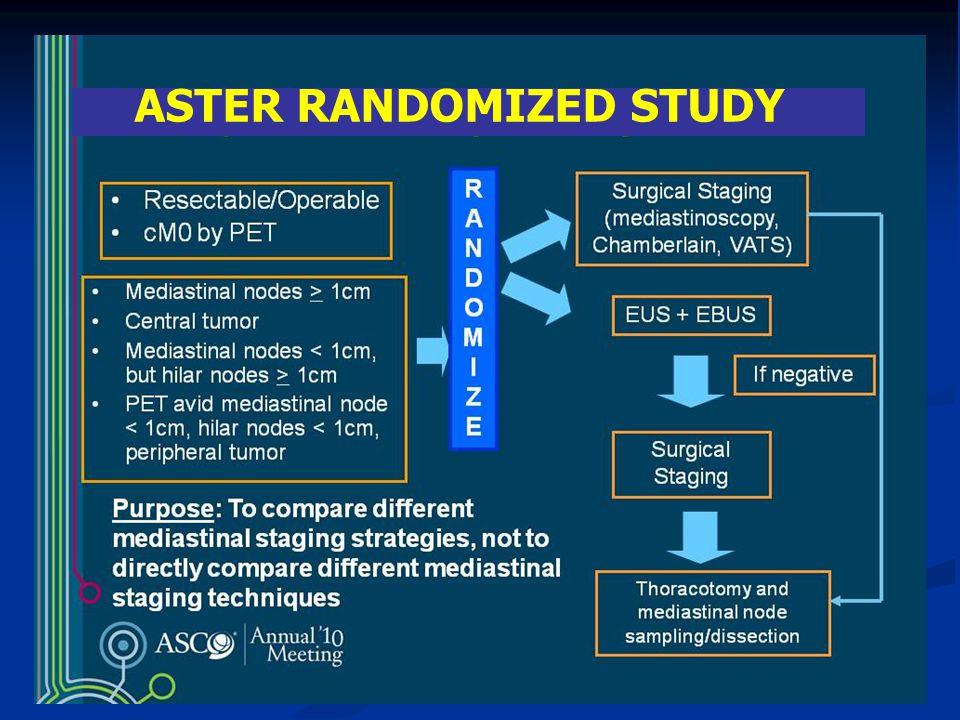 ASTER RANDOMIZED STUDY