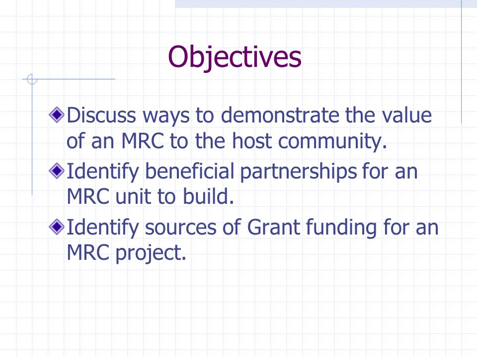 What Is the Value of an MRC.