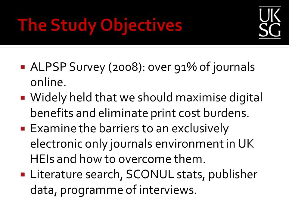  ALPSP Survey (2008): over 91% of journals online.