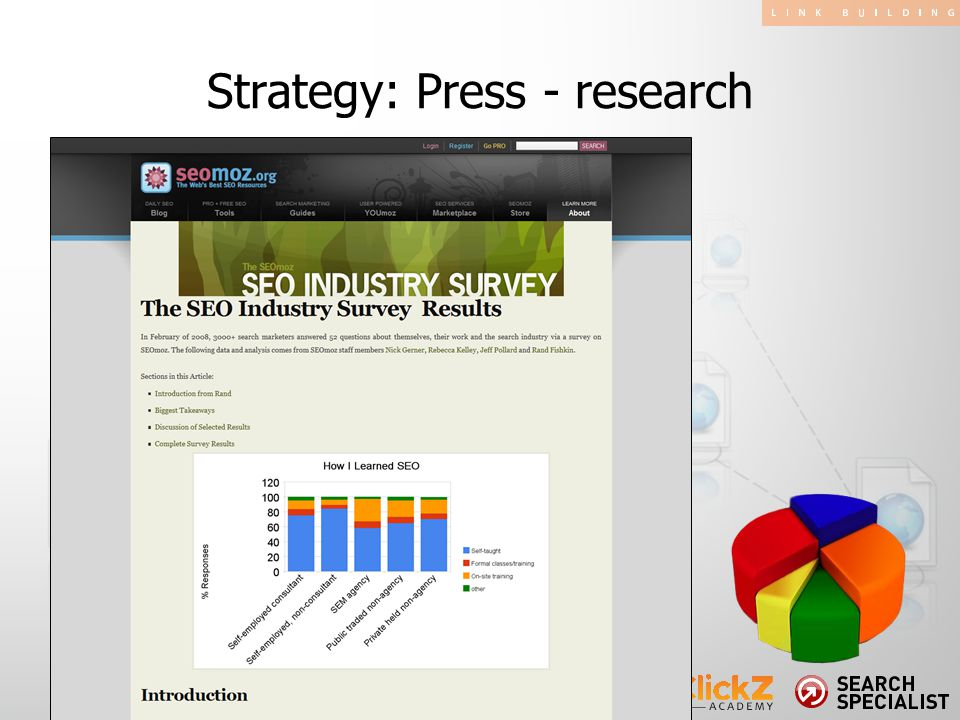 Strategy: Press - research