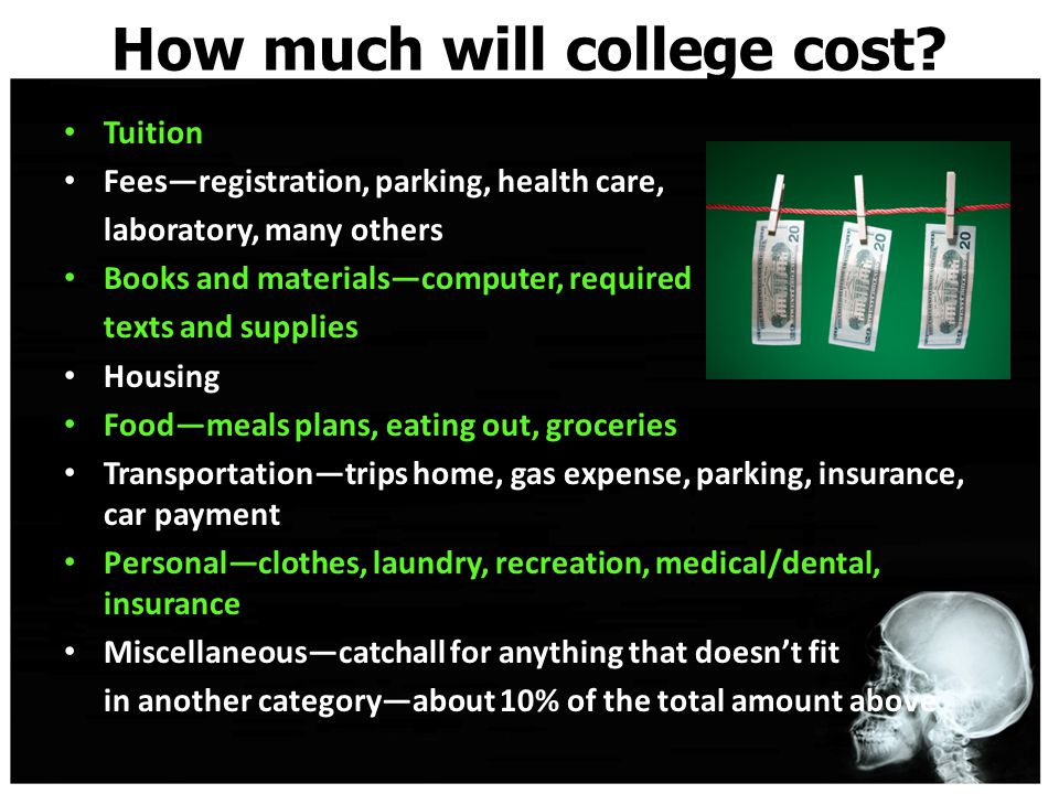 How much will college cost.