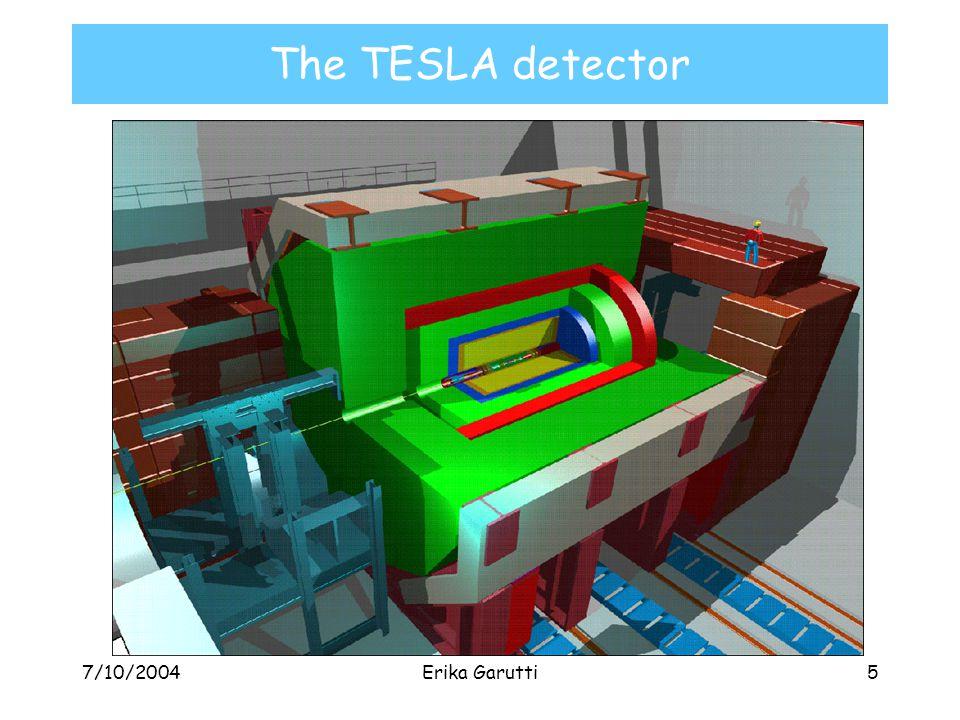 7/10/2004Erika Garutti5 The TESLA detector