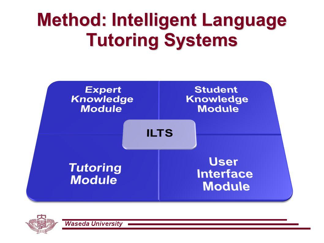 Waseda University Method: Intelligent Language Tutoring Systems