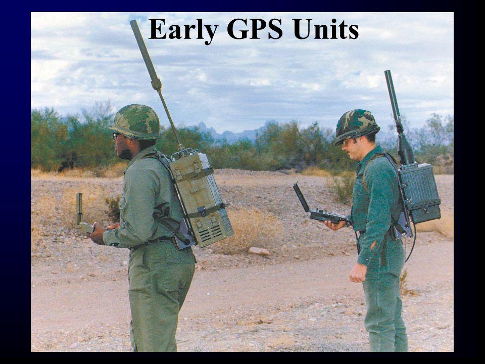 Early GPS Units