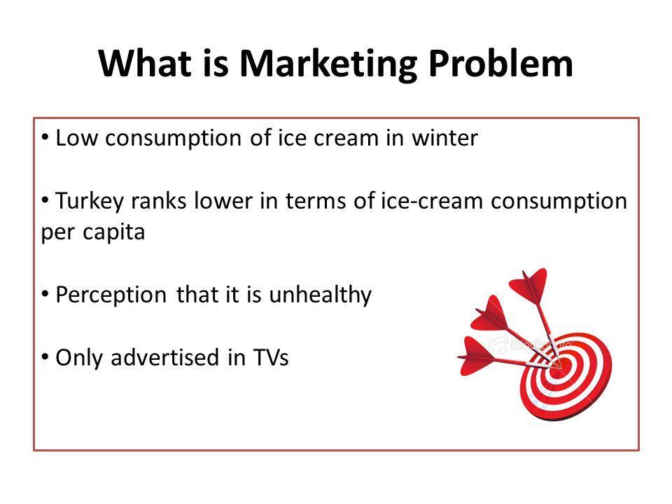 Double individual ice-cream consumption within 5 years GOAL
