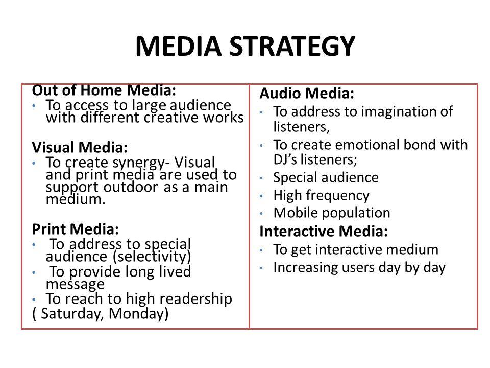 Advertising and Media analysis
