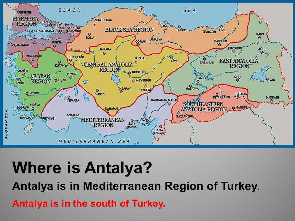 Where is Ankara Ankara is in Central Anatolia Region of Turkey. Ankara is in the middle of Turkey.