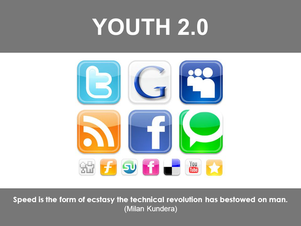 Too much information = no information YOUTH 2.0