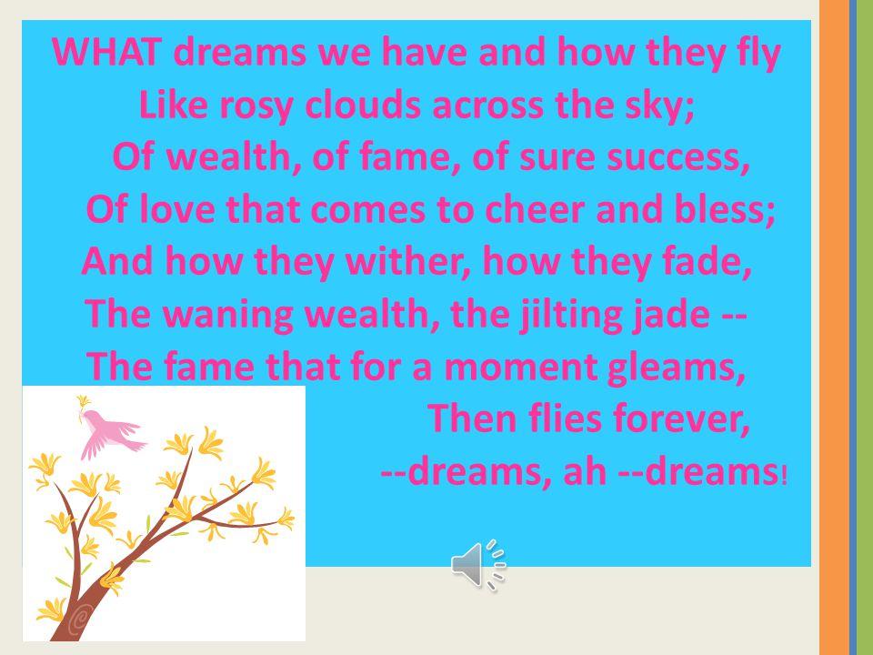 Dreams In Standard English