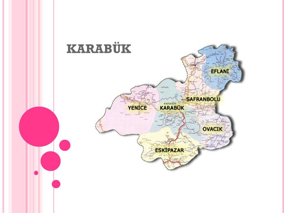E CONMY I N KARABÜK Karabük is an industrial city.