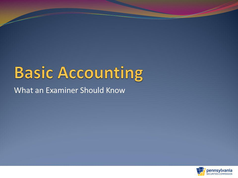 Basic Financial Statements Financial Statement Notes Very integral to understanding the financial statements Typical notes include: Significant Accounting Policies Description of the Entity's Operations Recent Accounting Pronouncements Related Party Transactions Fair Value of Financial Instruments Subsequent Events