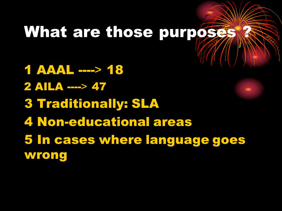 What is Applied Linguistics ? Applied linguistics is using what we know about (a) language, (b) how it is learned and (c) how it is used, to achieve s