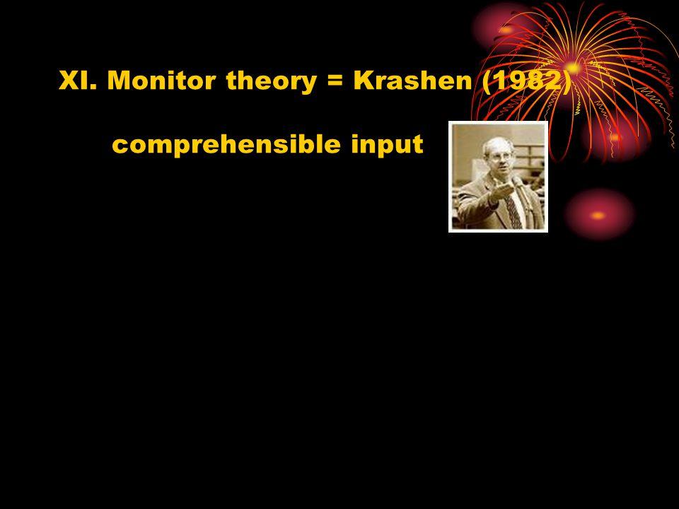 V. UG = Chomsky (1959) VI.