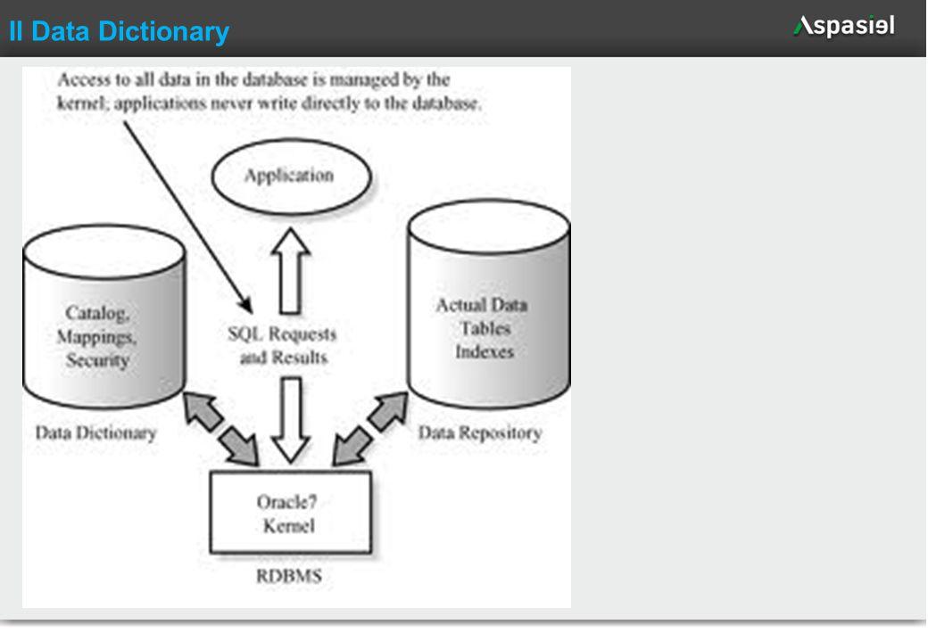 70 Il Data Dictionary