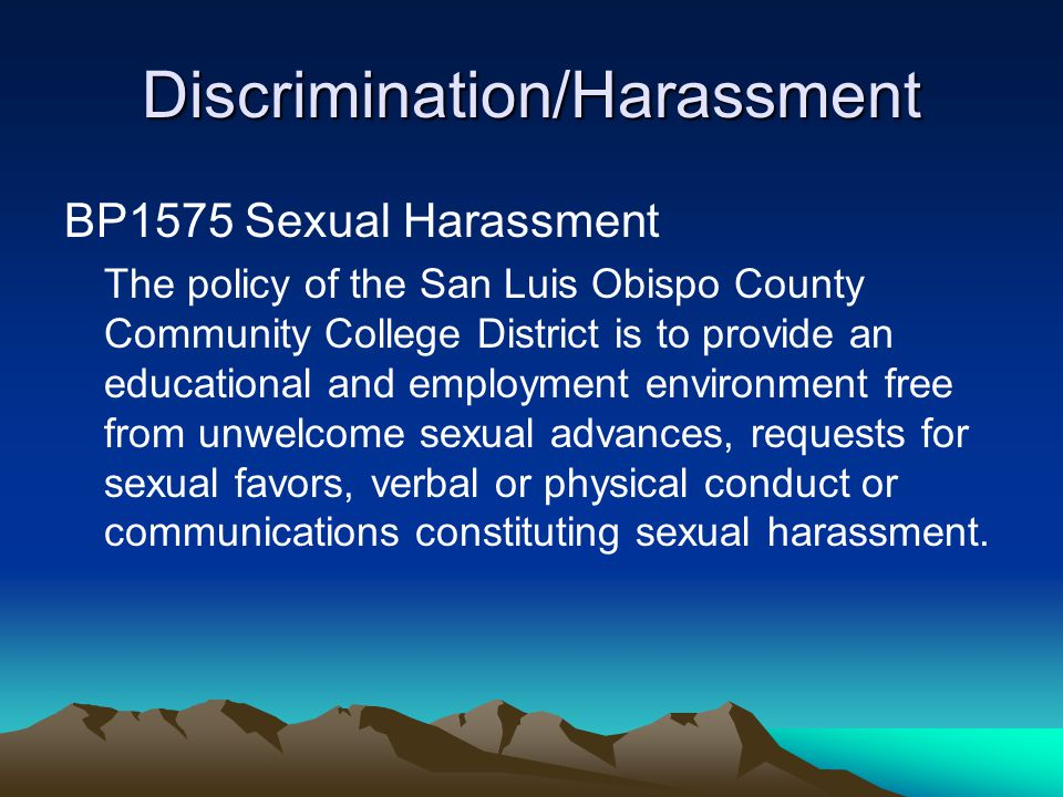 Disability Discrimination Americans with Disabilities Act – protects qualified individuals –Definition: physical or mental impairment that substantially limits one or more major life activities, a record of such impairment, or being regarded as having such an impairment –Qualified: able to perform essential functions of the job with or without accommodation –Major life activities: self care, manual tasks, walking, seeing, hearing, speaking, breathing, lifting, learning, thinking, eating, sleeping, interacting –Substantially – unable to perform or significantly restricted