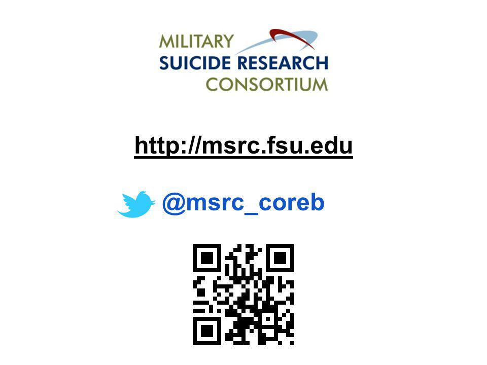 http://msrc.fsu.edu @msrc_coreb