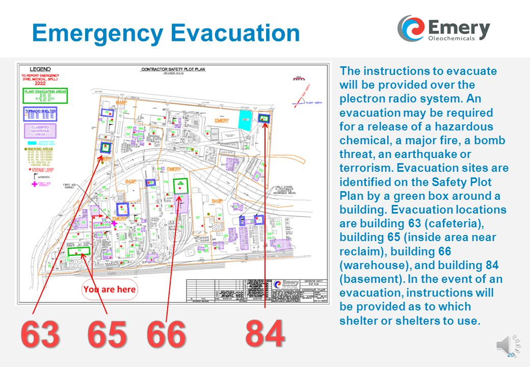 25 Emergency Evacuation 25