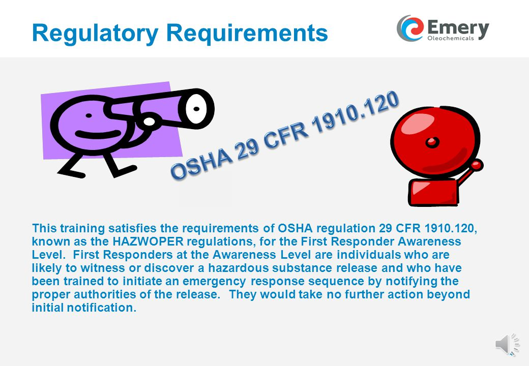 33 Regulatory Requirements